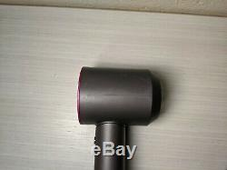 Dyson Supersonic Hair Dryer Only Iron Fuschia No Accessories WORKS GREAT