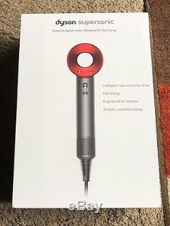 Dyson Supersonic Hair Dryer Red