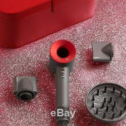 Dyson Supersonic Hair Dryer Red Gift Edition with Case NIB Factory Sealed