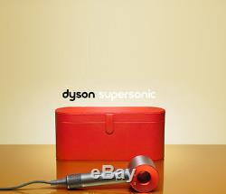 Dyson Supersonic Hair Dryer + Special Edition Case Iron Red