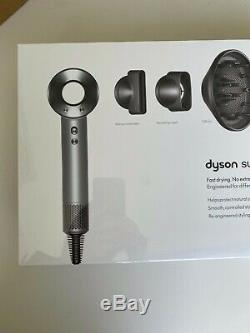 Dyson Supersonic Hair Dryer White/Silver Brand New in Box never used