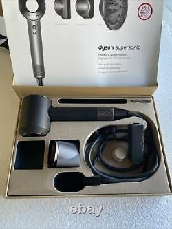 Dyson Supersonic Hair Dryer White/Silver with Dyson Travel Case