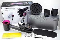 Dyson Supersonic Hair Dryer With Platinum Metallic Travel Case Limited Edition