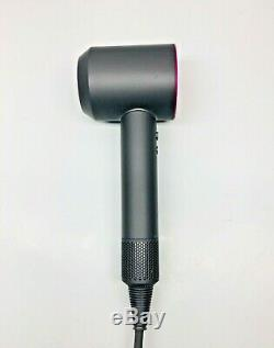 Dyson Supersonic Hair Dryer and Diffuser only, Fuchsia Used Condition (1C)