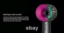 Dyson Supersonic Hair Dryer in Iron/Fuchsia 306002-01 Lightly Used