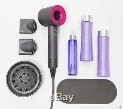 Dyson Supersonic Hair DryerAttachmentsAlterna Caviar ShampooConditionerMist