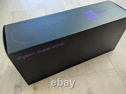 Dyson Supersonic Hairdryer Black/Purple (Great condition) 4 Accessories + Case