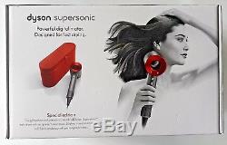 Dyson Supersonic Hairdryer, Iron and Red With Limited Edition Gift Case