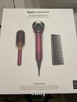 Dyson Supersonic LIMITED EDITION Hair DRYER FUCHSIA BRAND NEW IN BOX