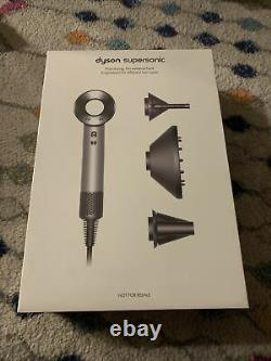Dyson Supersonic Professional Edition HD02 Nickel FACTORY SEALED! $449 Retail