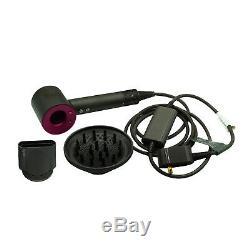 Dyson Supersonic Professional Genuine Hair Dryer 306002-01 Fuchsia No Box