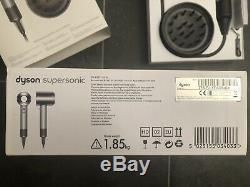 Dyson Supersonic Professional Haartrockner Ed. Nickel/Silver innerhalb Garantie