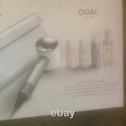 Dyson Supersonic Professional Hair Dryer-limited Ed Giftset-white/silver-nib