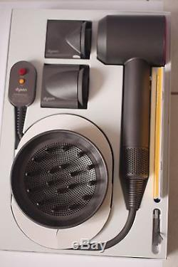 Dyson Supersonic Super sonic Hairdryer hair dryer FUSCHIA with box 120V 60Hz USA