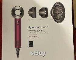 Dyson supersonic hair dryer iron fuchsia LIMITED EDITION