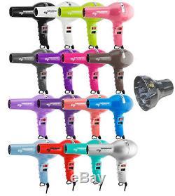 ETI Turbodryer 2000 Professional Salon Hair Dryer & Nozzles