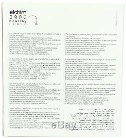 Elchim 3900 Healthy Ionic Dryer Bk & Diffuser 2400w- Lifetime Warranty Italy
