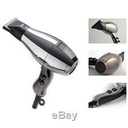 Elchim 3900 Healthy Ionic Titanium Edition Hair Dryer New Life Time Warranty