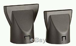 Elchim 3900 Ionic Dryer, Bk/silver 2000w-2400w Valid Lifetime Warranty Italy