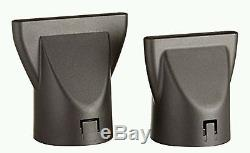 Elchim 3900 Ionic Dryer Bk/silver 2400w & Diffuser Lifetime Warranty Italy