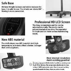 Floor Stand Salon Hair Steamer Ozone Heater Dyeing Perming Oil Treatment Machine