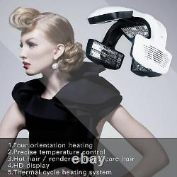 Fully Digital Infared Heater Functions Individual Fan Hair Dryer Timer Stand UK