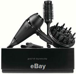GHD AIR KIT Asciugacapelli PROFESSIONAL + SPAZZOLA e accessori GARANZIA 2 ANNI
