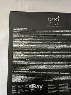 GHD Air Professional Hair Drying Kit Hairdryer/Diffuser/Vented Brush/Clips