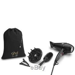 GHD Professional Hair Dryer 2100W Clips Size 3 Ceramic Brush Air Diffuser Kit