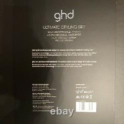 GHD Ultimate Styling Gift Set Straighteners Hairdryer Professional Blow Dry Gold