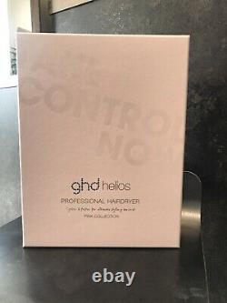 Ghd helios professional hair dryer in powder pink