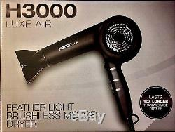 Hairart H3000 Luxe Air Featherweight Hair Dryer 10x Life Span 5 Year Warranty