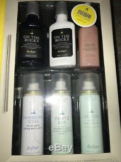 NEW! Drybar Buttercup Blow Dryer Fully Loaded Minibar 9 PC Holiday Gift Set