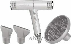 NEW GAMA PROFESSIONAL IQ PERFECTTO ITALY HAIR DRYER GRAY WithBOX