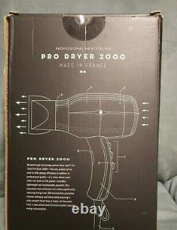 (NEW) Harry Josh Pro 2000 Hair Dryer Green