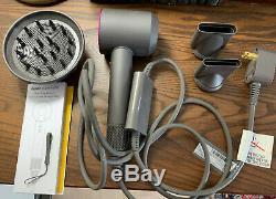 NEW (no box) Dyson 306002-01 1200W Supersonic Hair Dryer Fuchsia / Iron