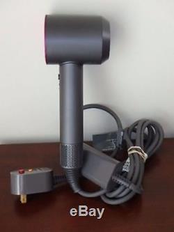 NEWEST MODEL DYSON SUPERSONIC HD01 Hair Dryer 1600 WATT FUSHIA /GREY 1600 WATTS