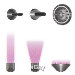 NIB $499 Dyson Supersonic Hair Blow Dryer White Silver Salon Pro 100%Authentic