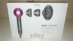New Dyson HD01 Supersonic Hair Dryer Fuchsia (Pink) 306002-01, HHA8055A
