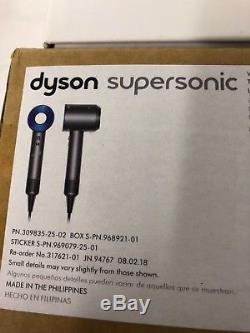 New Dyson Supersonic Hair Dryer HD01 AQUIS Travel Bag TowelIron Blue