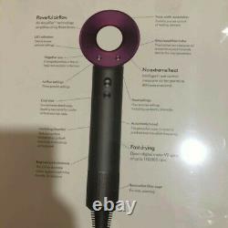 New Dyson Supersonic Hair Dryer Iron & Fuchsia HD03 IN SEALED BOX 2yr Warranty