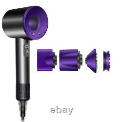 Original Dyson Supersonic Hair Dryer HD03 Black/Purple New Sealed Box