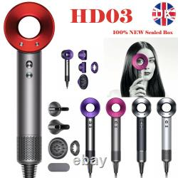 Original Dyson Supersonic Hair Dryer HD03 Brand New & Sealed Box 5 colors UK