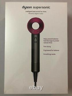 Original Dyson Supersonic Hair Dryer HD03 New & Sealed Box (Iron/Fuchsia) HD03