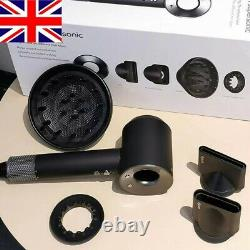 Original Dyson Supersonic Hairdryer HD03 -Brand New & Sealed Box (Black/Nickel)