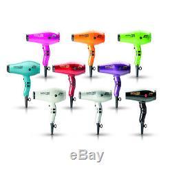 PARLUX 385 LIGHT Hair Dryer Ceramic & Ionic Super Compact Ultra Light Weight