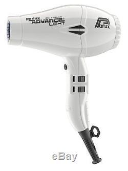 Parlux Advance Light Ionic Hair Dryer 2200 Watt Profesional Original White New