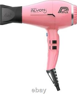Parlux New Alyon Air Ionizer Professional Hairdryer in Pink + FREE BRUSH