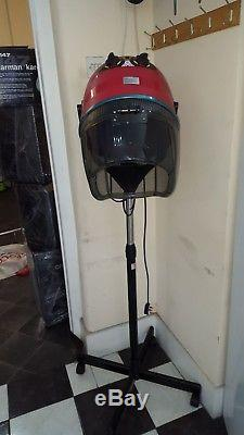 Portable Hairdryer Stand Professional Hair Dryer Hood Salon Hairdresser Floor