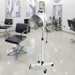 Portable Salon Hair Dryer Hood Floor Stand Professional Hairdresser Hairdryer